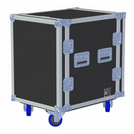 "19"" Rack case 14u - 550mm body, with base castors"